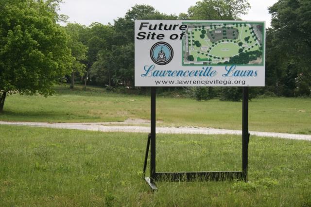 Lawrenceville Lawn Groundbreaking