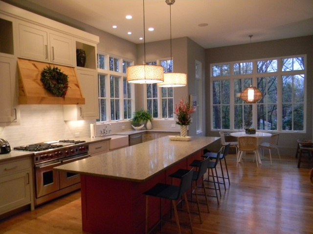 Tsw spangler kitchen featured in better homes and for Home garden kitchen design